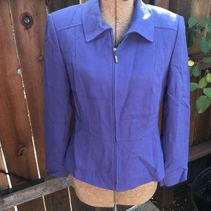 3/$15 Tahari purple blazer 6